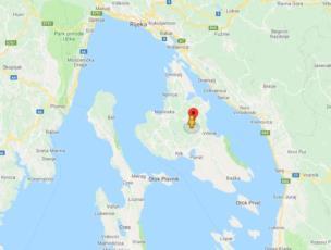 9. Ihre Krk Kroatien Karte mit den wichtigsten Orten der Insel