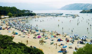 2. Den paradiesischen Sandstrand in Kroatien Rajska plaza auf Rab entdecken