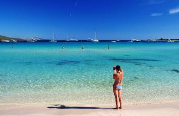 3. Der Sakarun - ein langer und flacher Strand mit weissem Sand