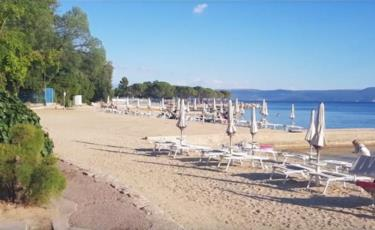 14. Aerobic am Meer und mehr erleben Sie am Sandstrand Crni Molo in Crikvenica
