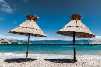 8. Go to Baska and have a great beach holiday