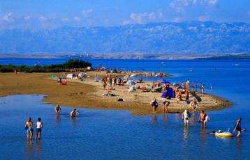 17. Heilschlamm Massagen und mehr am Ninska Laguna, einem der beliebtesten Kroatien Sandstrände