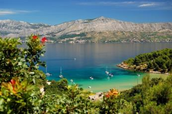 15. Have a good time at Lovrecina Beach on the island of Brac and experience its beauty