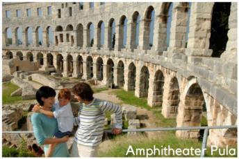 5. Amphitheater Pula, eines der imposantesten Bauwerke in Kroatien