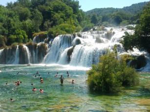 Kroatiens Naturschönheiten Foto