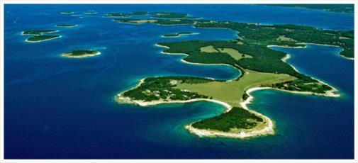 Kroatische Inseln Foto