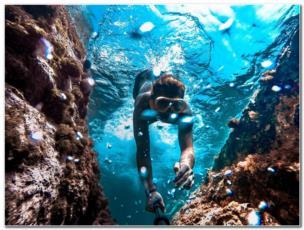 Kroatien Schnorcheln Tipps für Ihren perfekten Schorchelurlaub  Foto