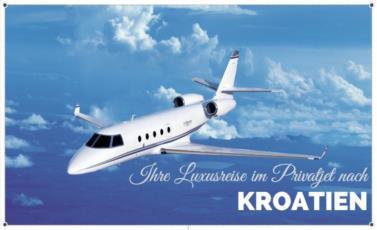 Ihre Luxusreise im Privatjet nach Kroatien  Foto