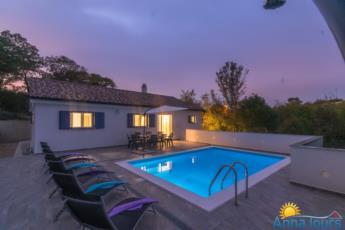 Ferienhaus mit Pool Blue Foto
